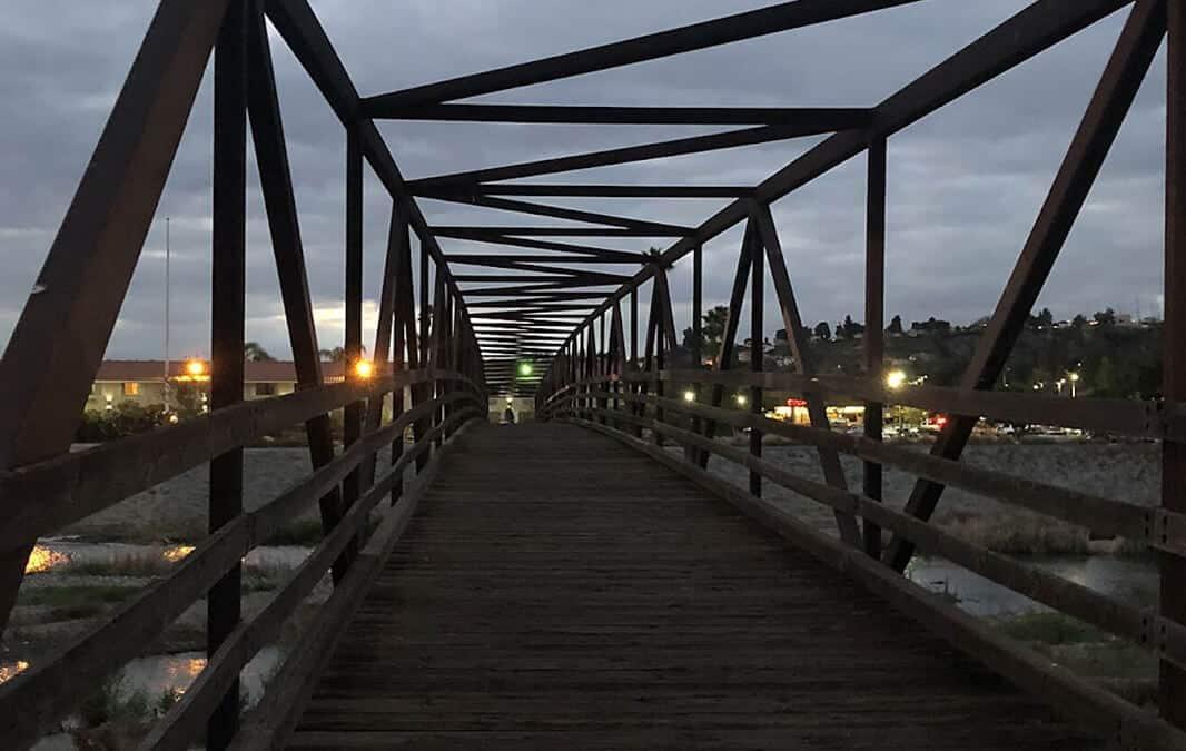 bridge in Santa Ana